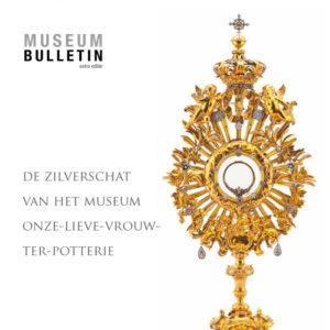 Cover van Museumbulletin extra editie - De zilverschat van het museum OLV Ter Potterie