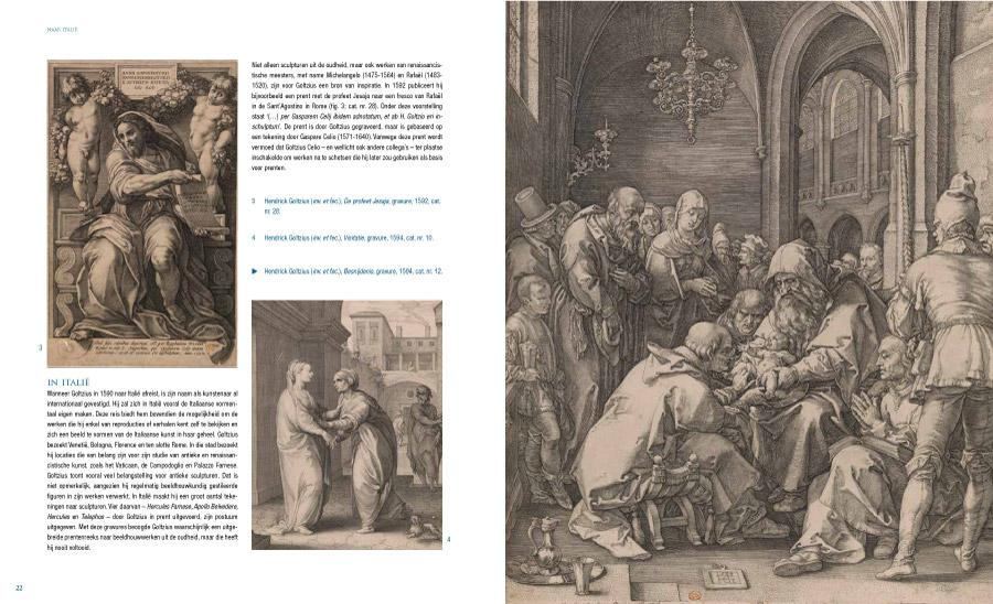 Binnenbladzijde van cataloog Virtuoos Maniërisme - Musea Brugge