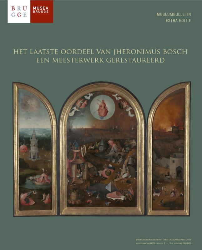 Cover van uitgave over Jheronimus Bosch - Musea Brugge - grafisch ontwerp door Agates te Brugge